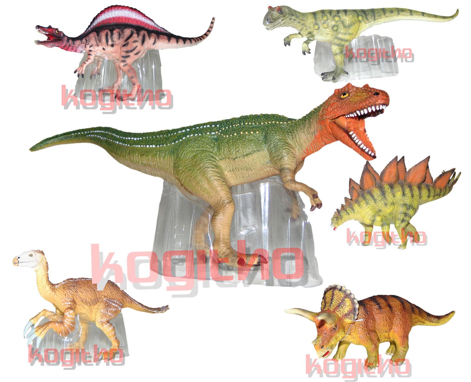 Bullyland dinosauri animali personaggio Dino Triceratops personaggio del gioco cucina Stegosaurus