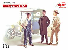 ICM 24003 Henry Ford & Co, 3 figures 1/24 Scale model kit