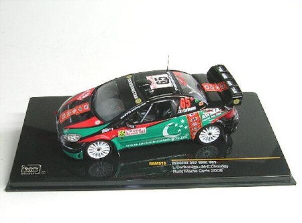 Peugeot 307 WRC No. 65 Rally Monte Carlo 2008