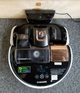 Samsung-R9250-PowerBot-Cyclone-Force-Robot-Vacuum-White-Copper-Refurbished