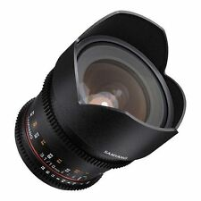 Samyang Cine 10mm T3.1 ED AS NCS CS Cine Wide Angle Lens for Sony A Mount