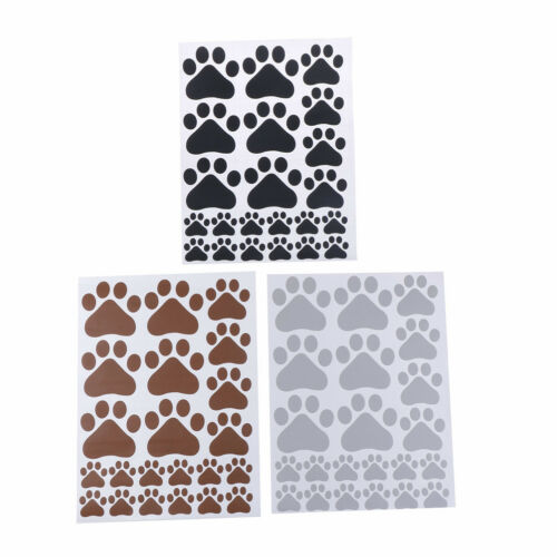 dog cat paw print for kids room decal wall stickers DIY decor removableEcp 0rp