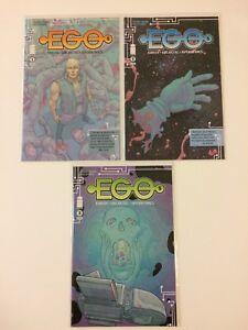 Lot-of-3-EGOs-1-2-3-Image-Comics-2014-VF-NM-Run