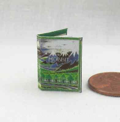 Espressive The Hobbit Tolkien Miniatura Libro Casa Delle Bambole 1:12 Scala Colore