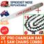 thumbnail 1 - 28-034-PRO-CHAINSAW-BAR-AND-1-CHAIN-3-8-058-92DL-FOR-Baumr-AG-SX92-92CC