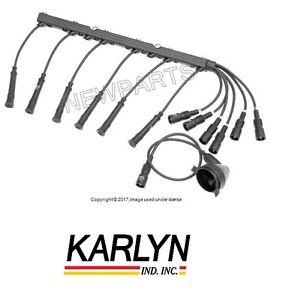 bmw e28 528 e30 325 ignition spark plug disttributor wires cables rh ebay com bmw e30 wiring diagram bmw e30 wiring harness for sale