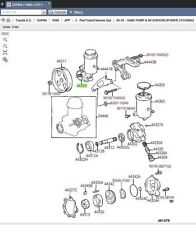 Toyota 44320-14250 Power Steering Pump