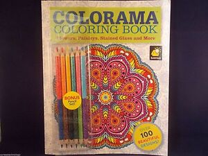 Image Is Loading Colorama Coloring Book As Seen On Tv Brand