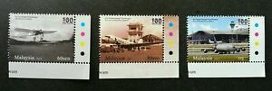 SJ-100-Years-Of-Aviation-Malaysia-2011-Transport-Airport-stamp-color-MNH