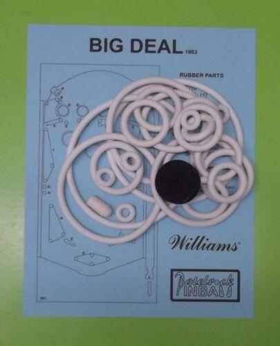 1963 Williams Big Deal pinball rubber ring kit