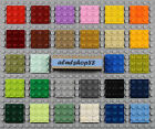 LEGO - 1x1 Plates Square - PICK YOUR COLORS - 3024 Flat Mosaic Blocks Bulk Lot