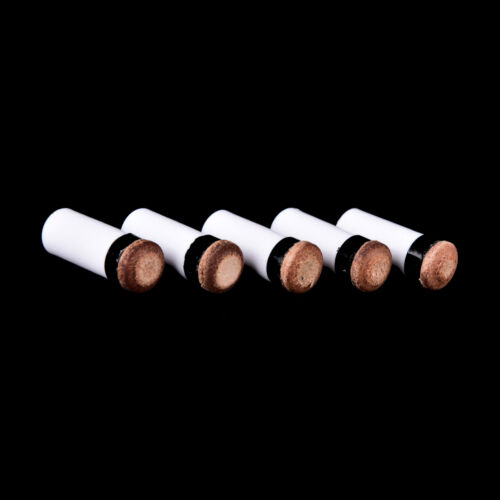 5 screw-on tips new 13mm billiards replacement parts 5 pool cue stick ferrules