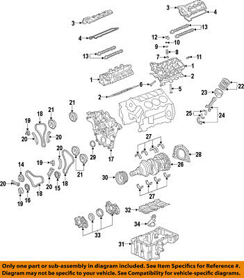 Genuine GM 12597417 Timing Chain Guide