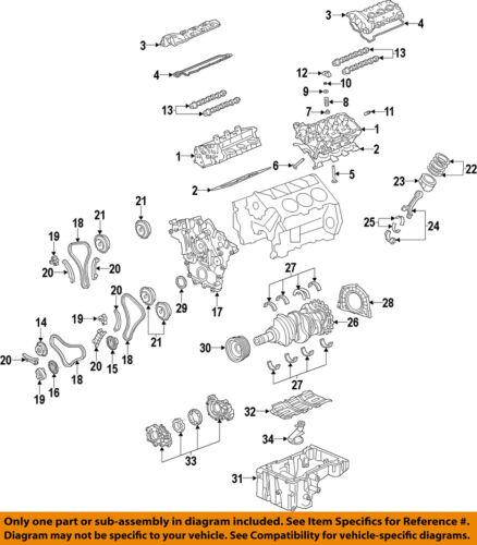 GM OEM-Engine Crankshaft Crank Seal 12637710