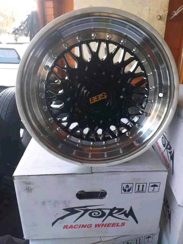 Bbs mags size 15 set new fits most of cars pcd 4*100/108 for sell