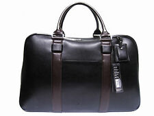 "$375 Kenneth Cole Saffiano Leather Duff-erent Stroke Duffle Travel Bag 20"" NWT"