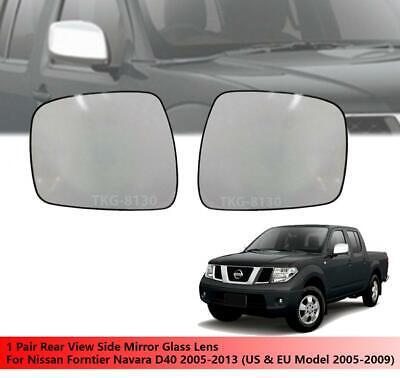 Door Mirror Chrome Manual R//H For Nissan Navara D40 Pick Up 2.5DCi 05//2005+