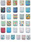 Alva Popular Washable Reusable Cloth Baby Pocket Diaper Nappy +1 Insert  YA L0t