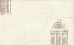 Wallpaper-Gray-amp-Tan-Architectural-Buildings-Drawings-On-Cream