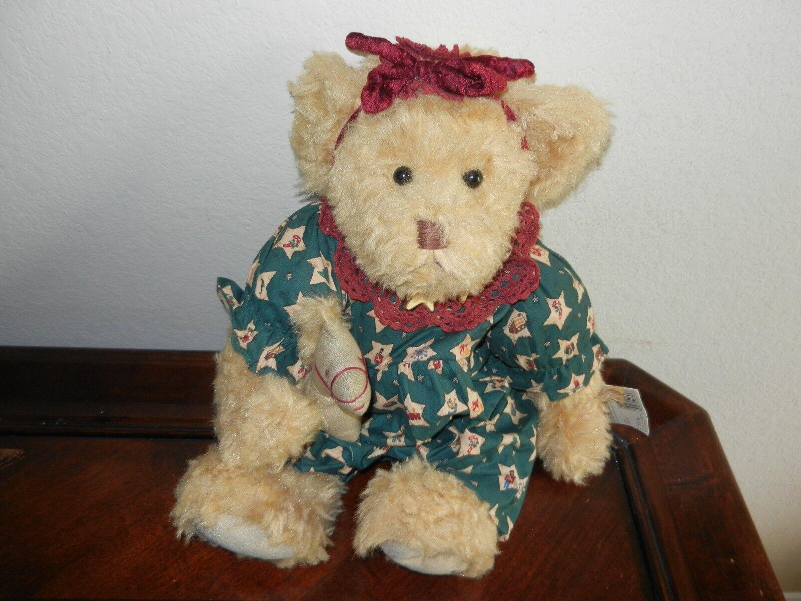 Ganz Cottage Collectibles Teddy Bear ~ Celeste ~ MWT Mint w/ Tag Carol E. Kirby