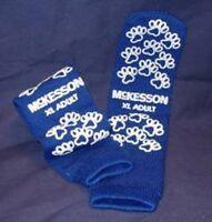 Pillow Paw Terries Slipper Sock - Size Xl Adualt, Royal Blue