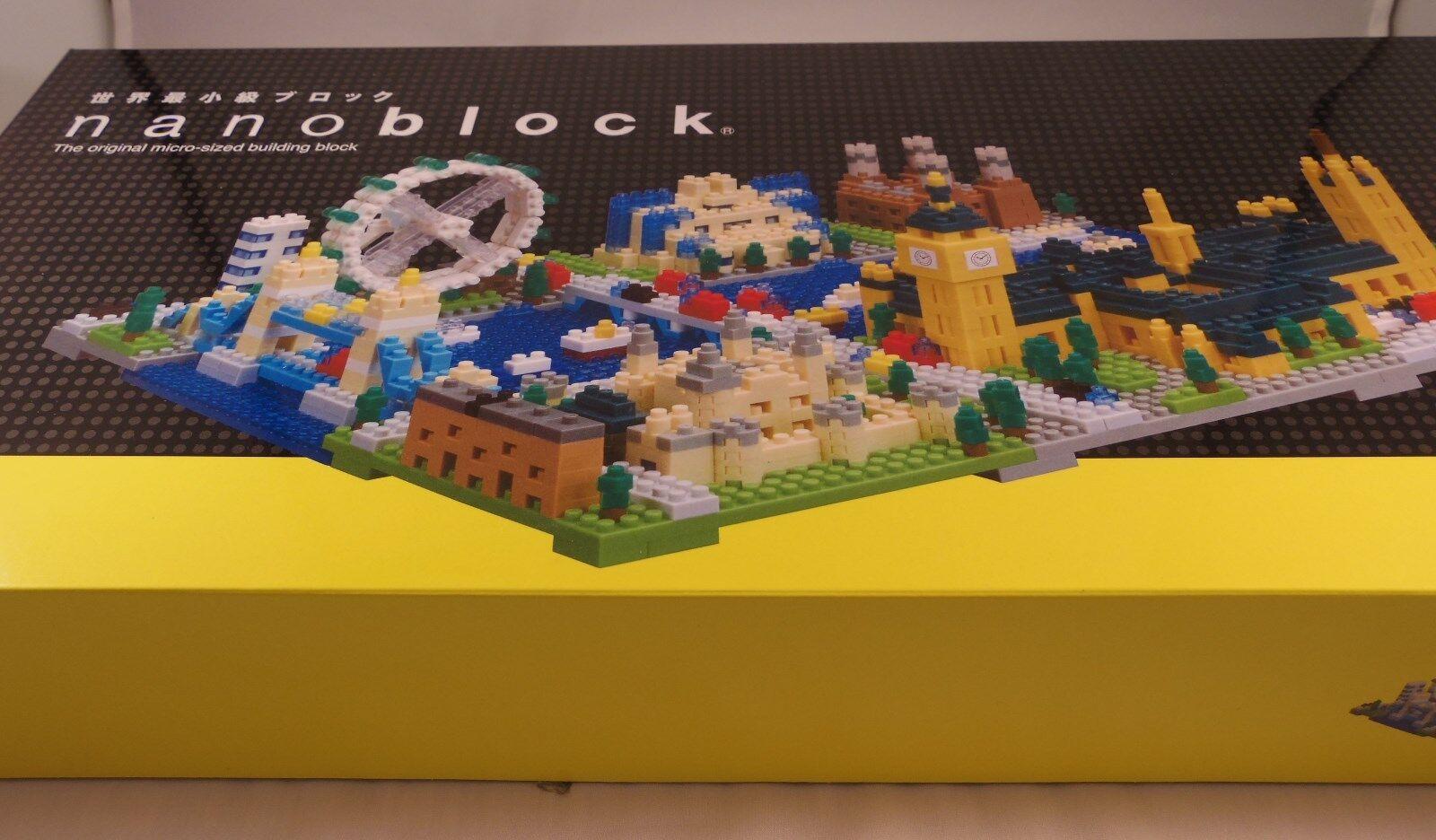 Kawada NanoBlock Londres Edición De Lujo-Juguete Japón NB-029 1630 un.