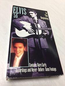 Elvis Presley VHS Movie Elvis '56 In The Beginning | eBay