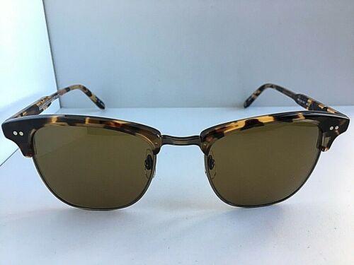 New Garrett Leight California Lincoln 48mm Tortoise Sunglasses