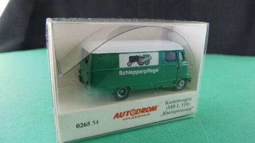 Wiking 026554 Kastenwagen MB L 319 Rheinpreussen H0 Autodrom Neu OVP