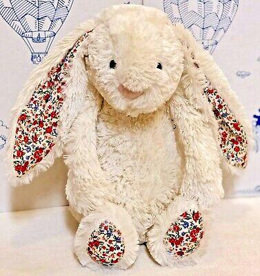Jellycat Medium Bashful Blossom Cream Bunny Rabbit