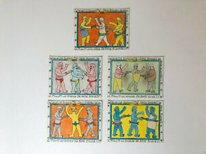 Frederic Bruly Bouabre - Art Contemporain Africain/Contemporary African 5pieces