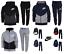 Nike-Boys-Kids-Fleece-Tracksuit-Jogging-Bottoms-Hoodie-Jacket-Top-Training-Pants thumbnail 1