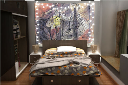 Pablo Picasso Tapestry Art Wall Hanging Sofa Table Bed Cover Poster