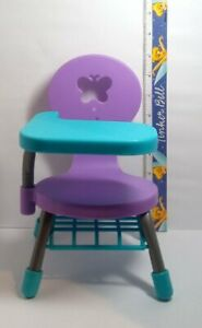 My-Life-as-Doll-Furniture-Purple-School-Desk-Chair-Fits-18-034-Dolls