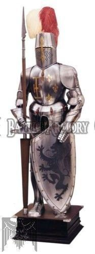 MEDIEVAL WEARABLE KNIGHT CRUSADOR FULL ARMOR SUIT ARMOR COSTUME SUIT