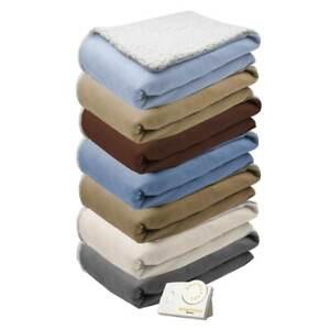 Biddeford-Comfort-Knit-Natural-Sherpa-Electric-Heated-Blanket