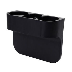 1X-Car-Seat-Seam-Wedge-Phone-Can-Water-Bottle-Multi-function-Drink-shelf-2Cup-ba