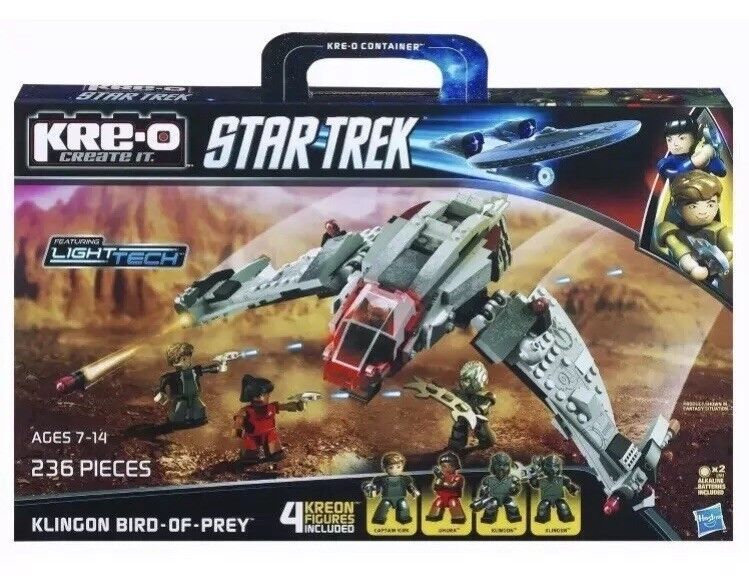 Brand New Kre-o Kreo A3136 - Klingon Bird of Prey - Star Trek