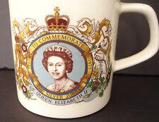 Queen Elizabeth II Silver Jubilee 1952 – 1977 Commemorative Mug
