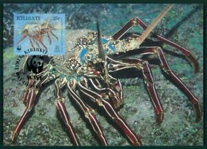 Aimable Kiribati Mk 1998 Faune épines-langouste Homard Langouste Maximum Carte Mc Cm En57-e Lobster Langouste Maximumkarte Mc Cm En57fr-fr Afficher Le Titre D'origine