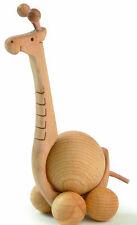 Finkbeiner Rolltier Giraffe NEU/OVP 3cm Kugel Design Dekoration Rollie Tier Holz