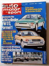 AMS 7-84+JAGUAR MK2+VOLVO 360+ALFA 6+AUDI 100+BMW 525+CHEVROLET CAPRICE+SAAB 900