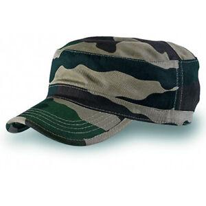ATLANTIS tank PLAIN MILITARY ARMY CAP HAT  CAMO  5842410120023  7ecf8fb3d63
