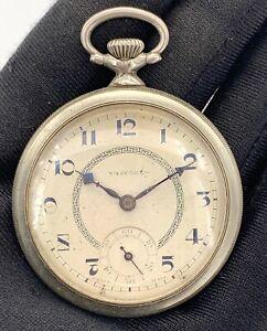 Vasconia-Main-Manuel-Vintage-43-3-mm-Pas-Fonctionne-pour-Pieces-de-Poche-Montre