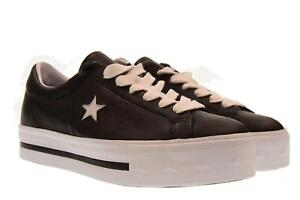 18479bff4c40 Image is loading Converse-A18u-shoes-woman-low-platform-sneakers-562734C-