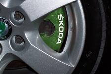 SKODA Brake Caliper Decals Stickers Fabia Octavia Yeti Citigo Superb Rapid