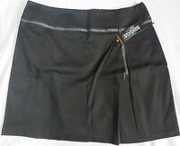 Briggs York Black Skirt Womens Misses Size 16