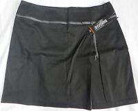 Briggs York Black Skirt Womens Misses Size 16