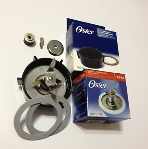 Oster-Blade-with-Jar-Base-Stud-amp-Coupling-amp-2-Sealing-Rings-Original-Parts