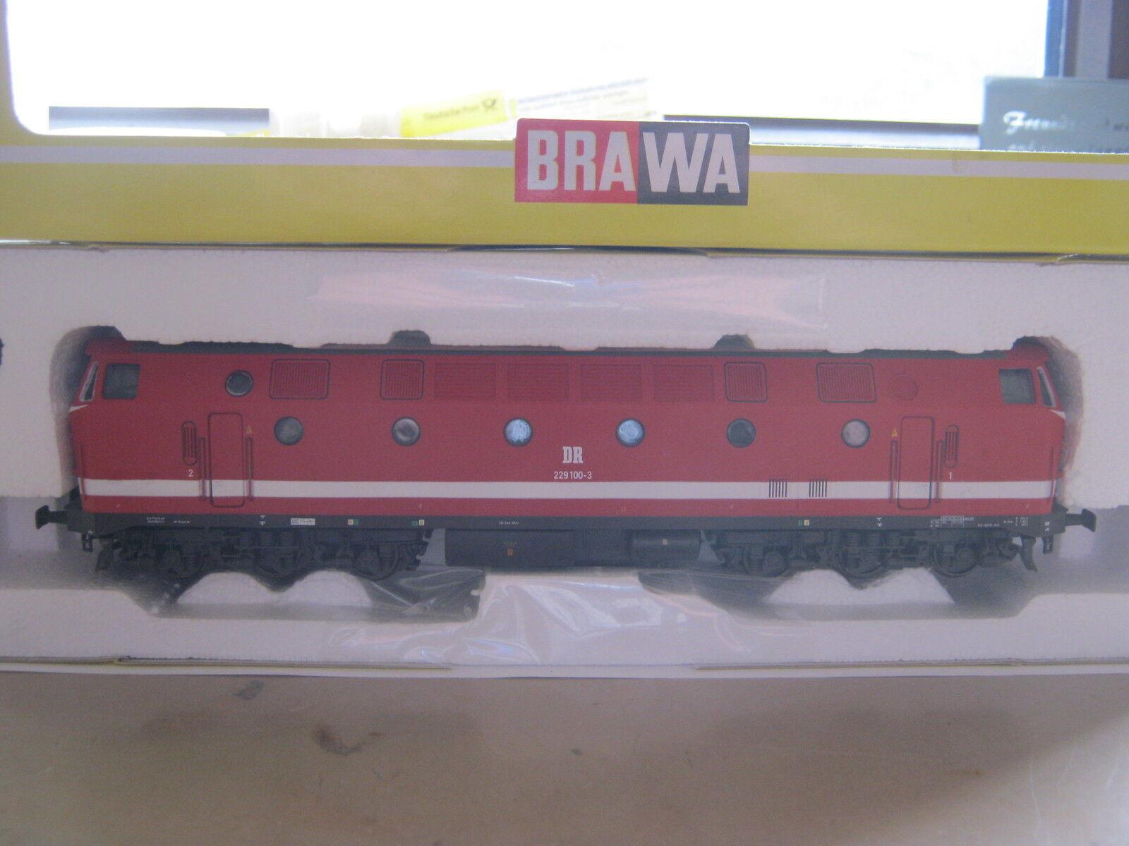 Brawa HO 0402 Diesel Lok BtrNr 229 100-3 DR (RG AU 99S1)  | Toy Story
